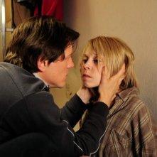 Antonia Campbell-Hughes con Thure Lindhardt nel film 3096, dedicato alla storia di Natascha Kampusch
