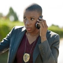 Cult: Aisha Hinds nell'episodio In The Blood