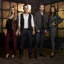 Cult: una foto promozionale del cast della serie