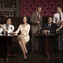 The Good Wife: una foto promozionale del cast della stagione 4