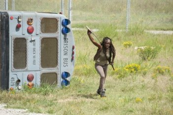 The Walking Dead: Danai Gurira è Michonne nell'episodio Bentornato a casa