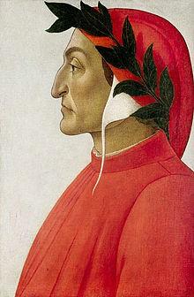 Una foto di Dante Alighieri
