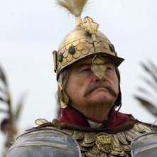 11 settembre 1683: Jerzy Skolimowski interpreta il Re Polacco Jan III Sobieski in una scena del film