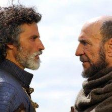 11 settembre 1683: Karà Mustafà contro Marco d'Aviano (Enrico Lo Verso contro F. Murray Abraham) in una scena del film