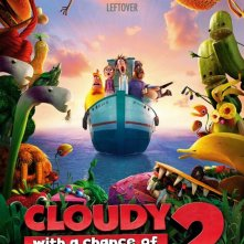 Cloudy 2: Revenge of the Leftovers: la locandina del film