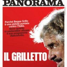Beppe Grillo sulla cover di Panorama (febbraio 2013)