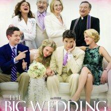 Big Wedding: nuovo poster internazionale
