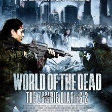 World of the Dead - The Zombie Diaries: la locandina del film