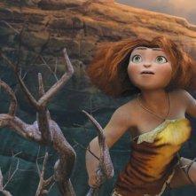 I Croods: la giovane e coraggiosa Hip in una scena del film