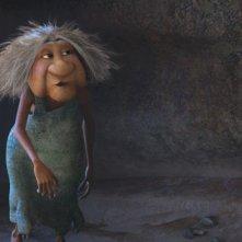 I Croods: la Nonna in un'immagine tratta dal film