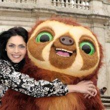 I Croods: Laccio il bradipo a Trinità dei Monti con Rosalia Misseri (doppiatrice di Hip)