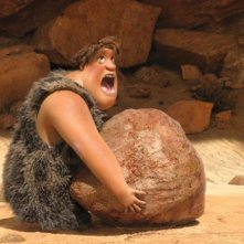 I Croods: Tonco in una divertente scena del film