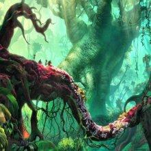 I Croods: un'incantevole scena del film