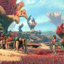 I Croods: una bella immagine tratta dal film d'animazione