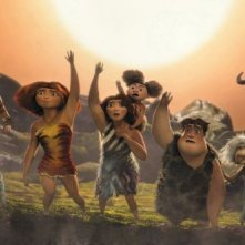 I Croods: una suggestiva scena tratta dal film