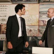 Un medico in famiglia 8: Alessandro Tersigni e Ivano Marescotti in una scena della fiction
