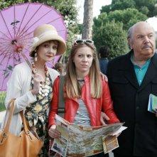 Un medico in famiglia 8: Lino Banfi e Eleonora Cadeddu in una scena della fiction