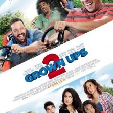 Grown Ups 2: la locandina del film