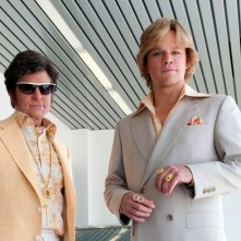 Behind the Candelabra: Matt Damon e Michael Douglas in un'immagine del biopic dedicato a Liberace