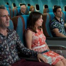 Gli amanti passeggeri: Lola Dueñas con Guillermo Toledo
