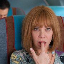 Gli amanti passeggeri: Cecilia Roth in una scena della commedia