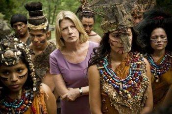 Ci vuole un gran fisico: Angela Finocchiaro in una bizzarra scena del film