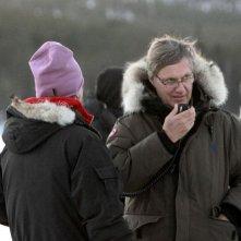 L'ipnotista: il regista Lasse Hallström sul set