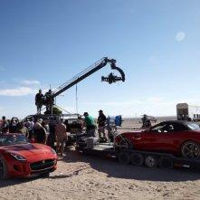 La Jaguar F-Type sul set del corto Desire