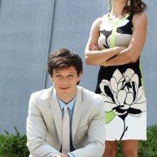 Outing - Fidanzati per sbaglio: Andrea Bosca e Claudia Potenza in una scena