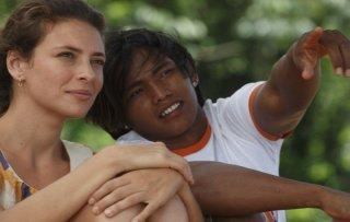 Un giorno devi andare: Jasmine Trinca e Paulo De Souza in una scena del film di Giorgio Diritti