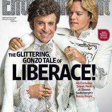 Behind the Candelabra: Matt Damon e Michael Douglas sulla copertina di Entertainment Weekly
