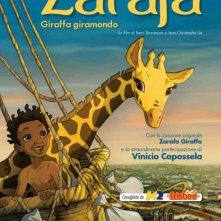 Le avventure di Zarafa - Giraffa Giramondo: la locandina italiana del film