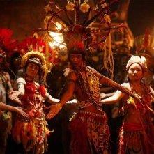 Marsupilami: Liya Kebede nei panni di Reine Paya in una scena del film