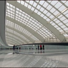 Quanto pesa il suo edificio, Mr. Foster?: una scena del documentario sull'architetto Norman Foster