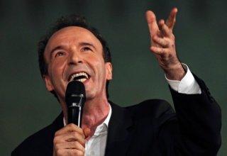 Roberto Benigni nello show 'TuttoDante' - Foto di Claudio Iannone