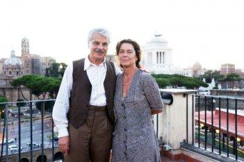 Trilussa - Storia d'amore e di poesia: Michele Placido e Monica Guerritore sul set