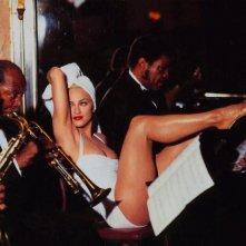 Madonna - 1990, una foto promo per A letto con Madonna