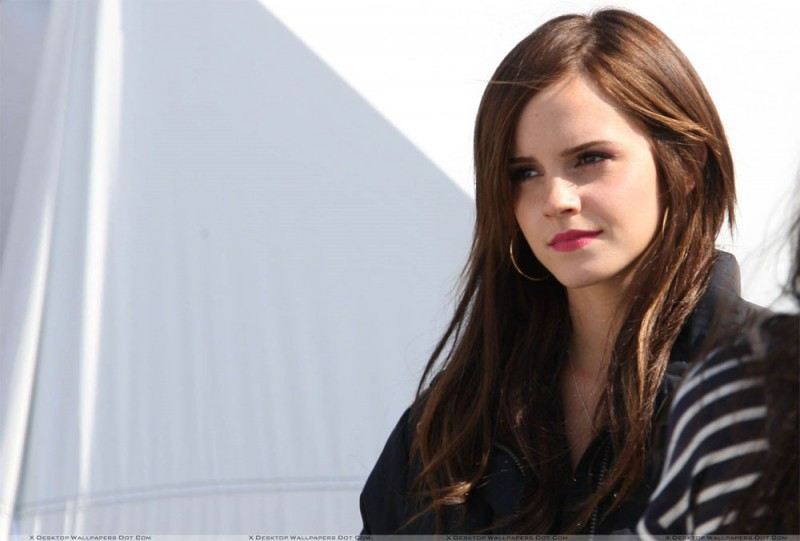 Un bel primo piano di Emma Watson sul set di The Bling Ring