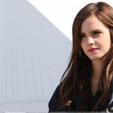 Un bel primo piano di Emma Watson sul set di The Bling Ring