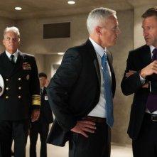 Attacco al potere - Olympus Has Fallen: Aaron Eckhart e Phil Austin in una scena del film