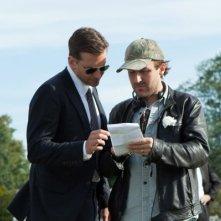 Come un tuono: Bradley Cooper insieme al regista Derek Cianfrance sul set del film