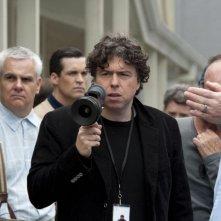 Hitchcock: il regista Sacha Gervasi sul set del film