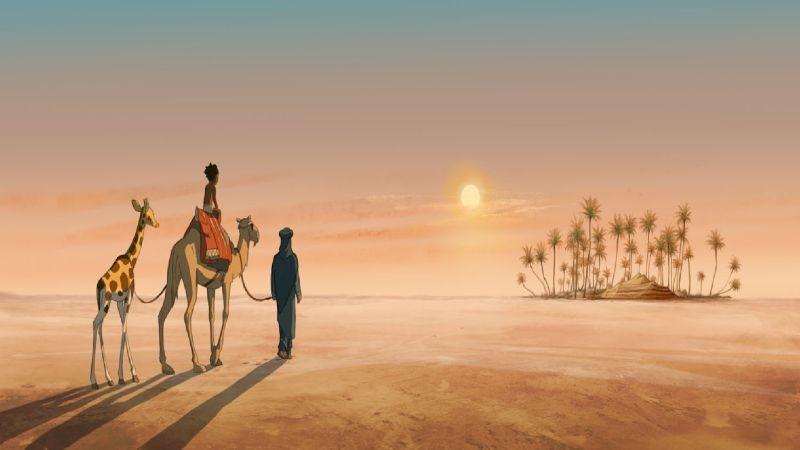 Le Avventure Di Zarafa Giraffa Giramondo Un Tramonto Nel Deserto Tratto Dal Film D Animazione 268332
