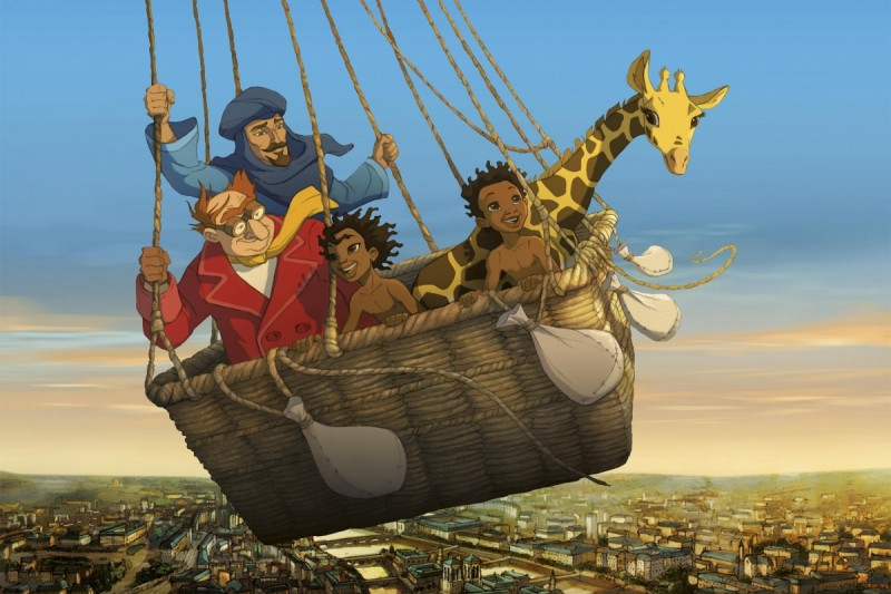 Le Avventure Di Zarafa Giraffa Giramondo Una Bella Immagine Del Film 268330