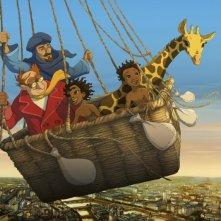 Le avventure di Zarafa - Giraffa Giramondo: una bella immagine del film