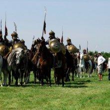 11 settembre 1683: una scena di battaglia del film