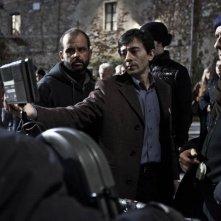 La città ideale: Luigi Lo Cascio, regista e interprete del film, sul set