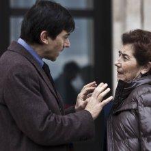 La città ideale: Luigi Lo Cascio sul set del film con la madre Aida Burruano, interprete del film