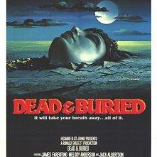 Morti e sepolti: la locandina del film