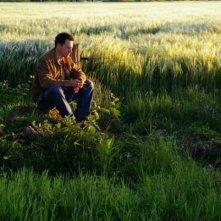 Shane Taylor in una scena del film Bomber di Paul Cotter